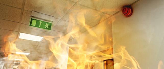 Votre lieu de travail et la conformité en matière de sécurité-incendie